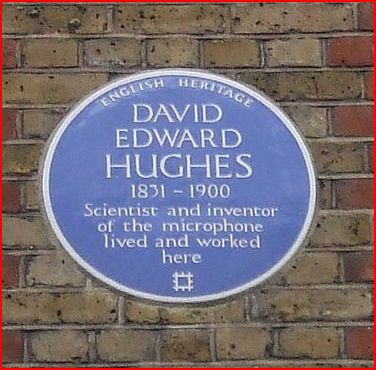 The English Heritage Blue Plaque